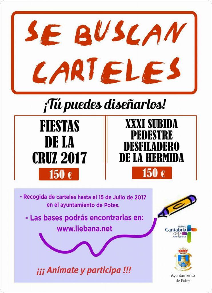 Concurso Carteles Fiestas De La Cruz 2017 Y Xxxi Subida Pedestre