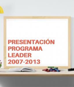 Programa Leader Cantabria 2007-2013